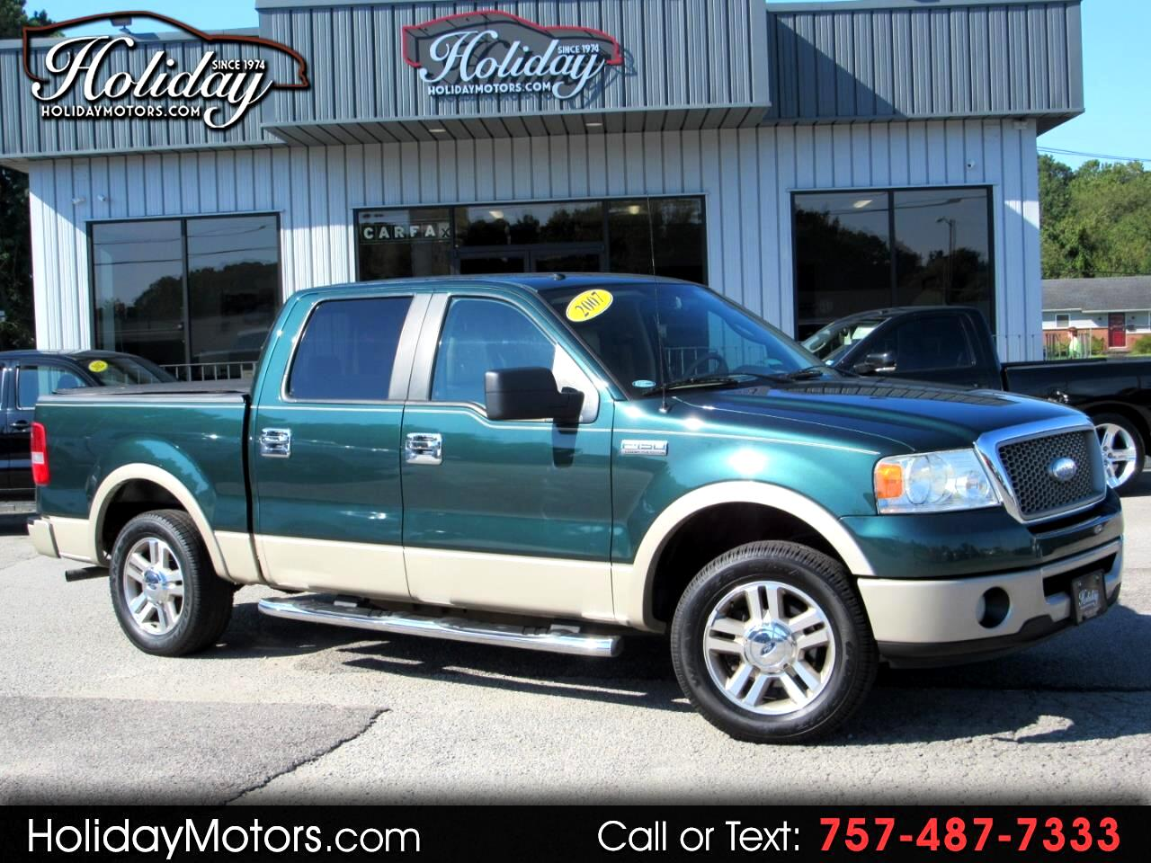 "2007 Ford F-150 2WD SuperCrew 139"" Lariat"