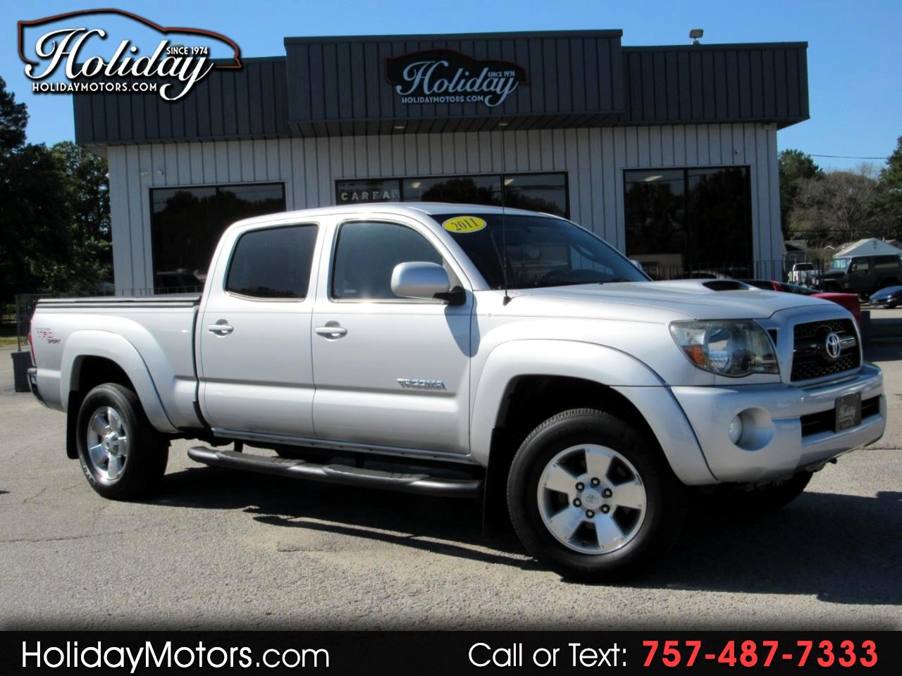2011 Toyota Tacoma 2WD Double LB V6 AT PreRunner (Natl)