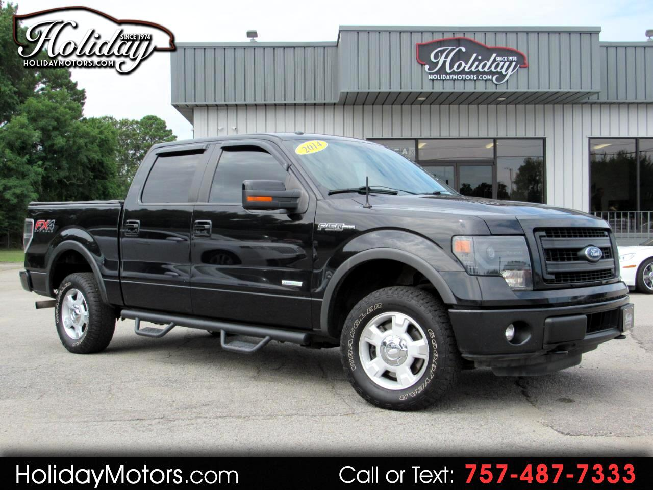"Ford F-150 4WD SuperCrew 157"" FX4 2014"
