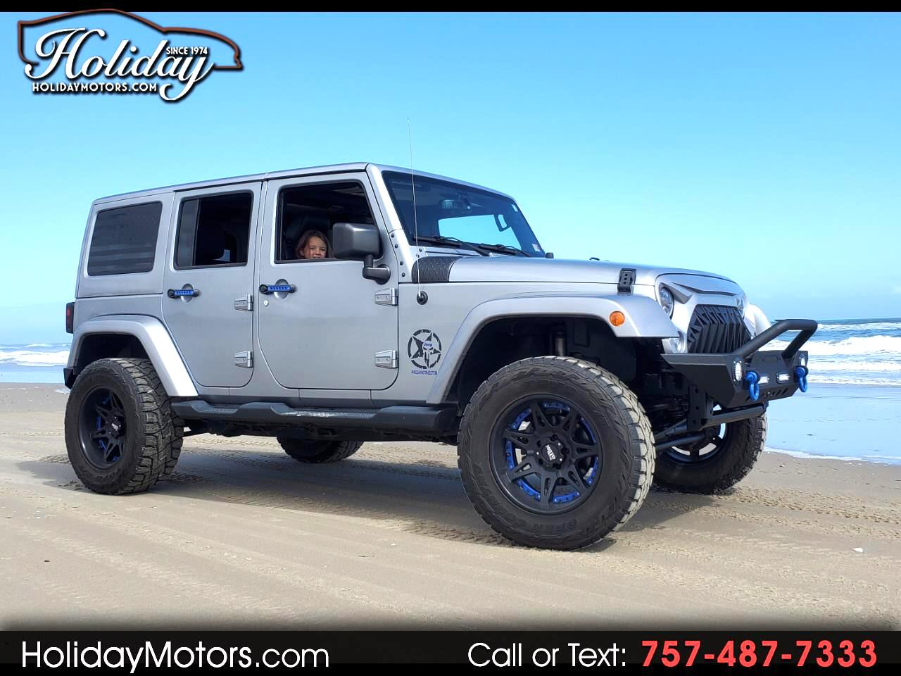 Jeep Wrangler Unlimited 4WD 4dr Sahara 2015