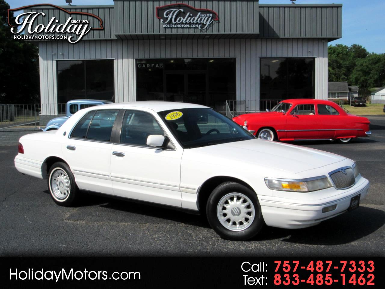 Mercury Grand Marquis 4dr Sdn LS 1996