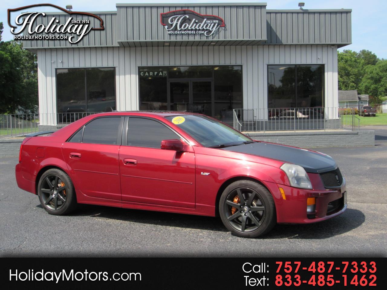 Cadillac CTS-V 4dr Sdn 2006