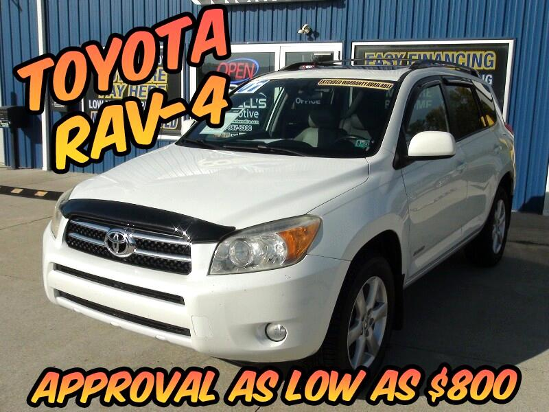 Toyota RAV4 Limited I4 4WD 2007