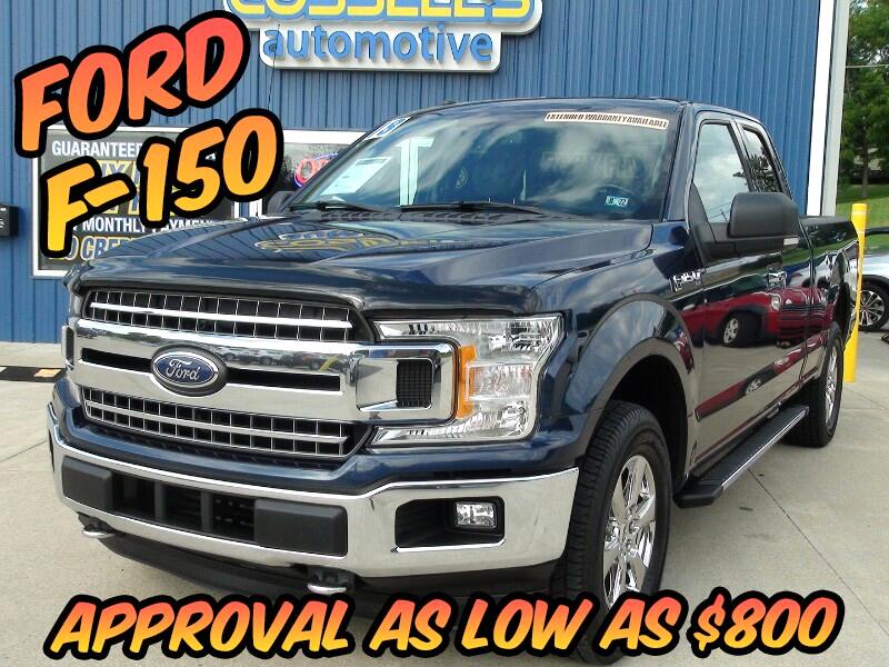 Ford F-150 Lariat SuperCab 6.5-ft. 4WD 2018