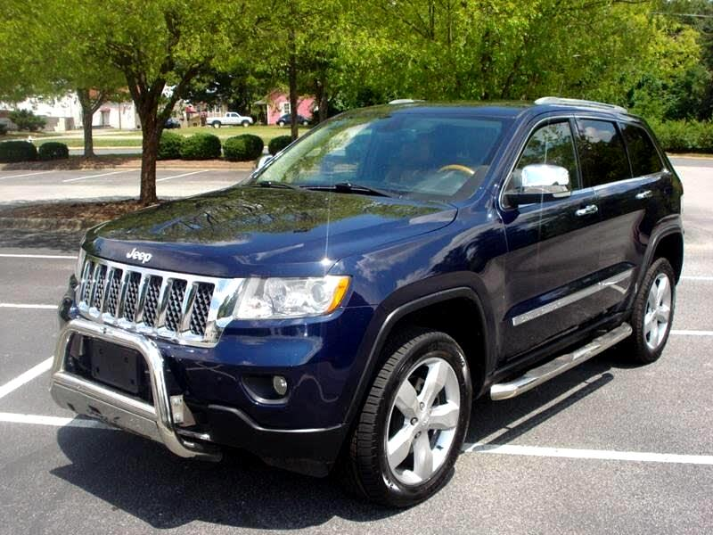 Used Tires Greensboro Nc >> Used 2012 Jeep Grand Cherokee Overland 4wd For Sale In