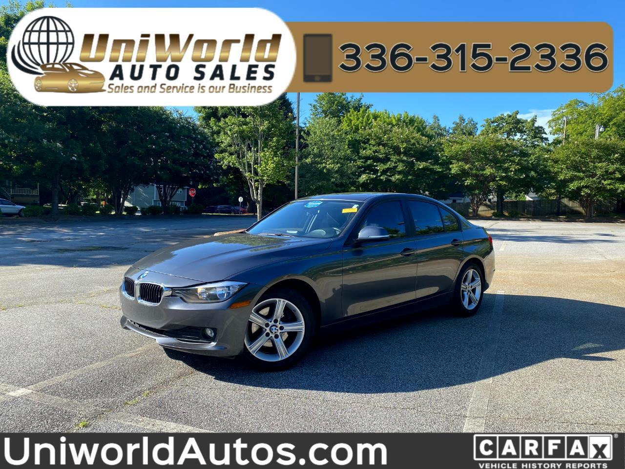 BMW 3 Series 4dr Sdn 320i RWD 2014