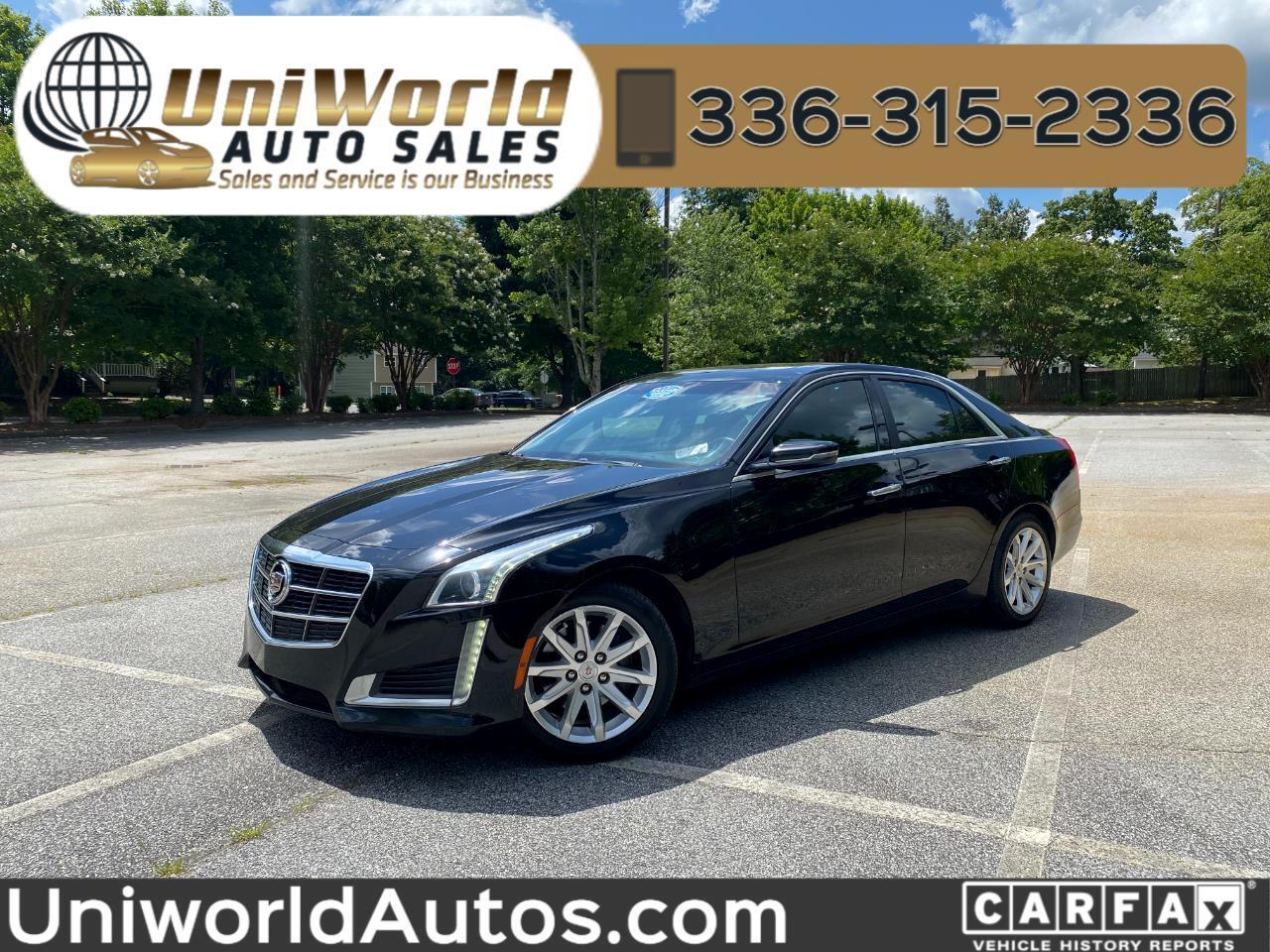 Cadillac CTS Sedan 4dr Sdn 2.0L Turbo Luxury RWD 2014