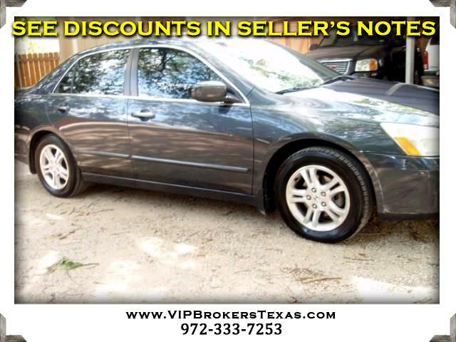 2007 Honda Accord SE Sedan AT