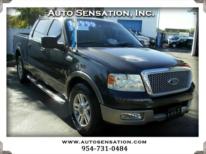 "2005 Ford F-150 SuperCrew 139"" King Ranch"