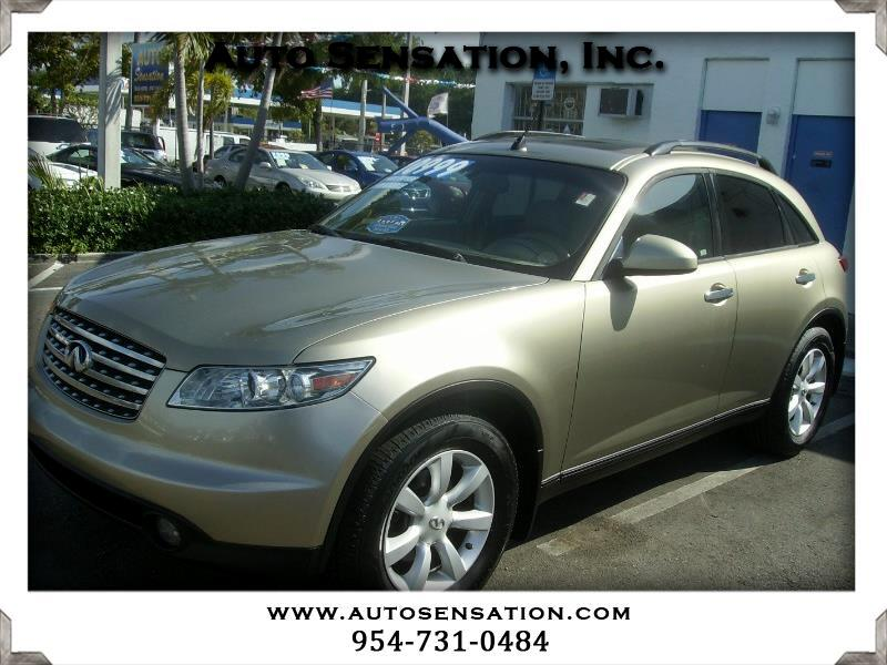 Infiniti FX35 AWD w/Options 2003
