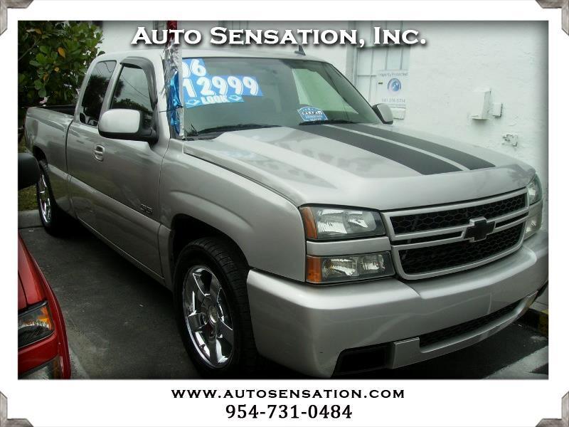"2006 Chevrolet Silverado SS Ext Cab 143.5"" WB"
