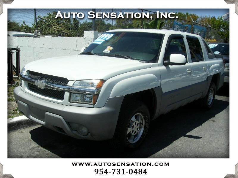 "2002 Chevrolet Avalanche 1500 5dr Crew Cab 130"" WB"