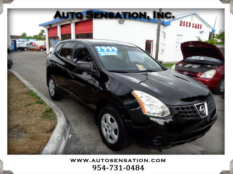 Nissan Rogue FWD 4dr S 2008