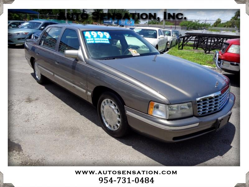 1999 Cadillac DeVille 4dr Sdn
