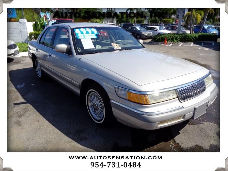 Mercury Grand Marquis 4dr Sedan LS 1992