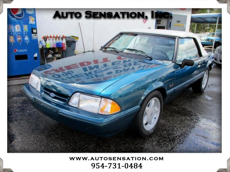 Ford Mustang 2dr Convertible LX 5.0L 1993