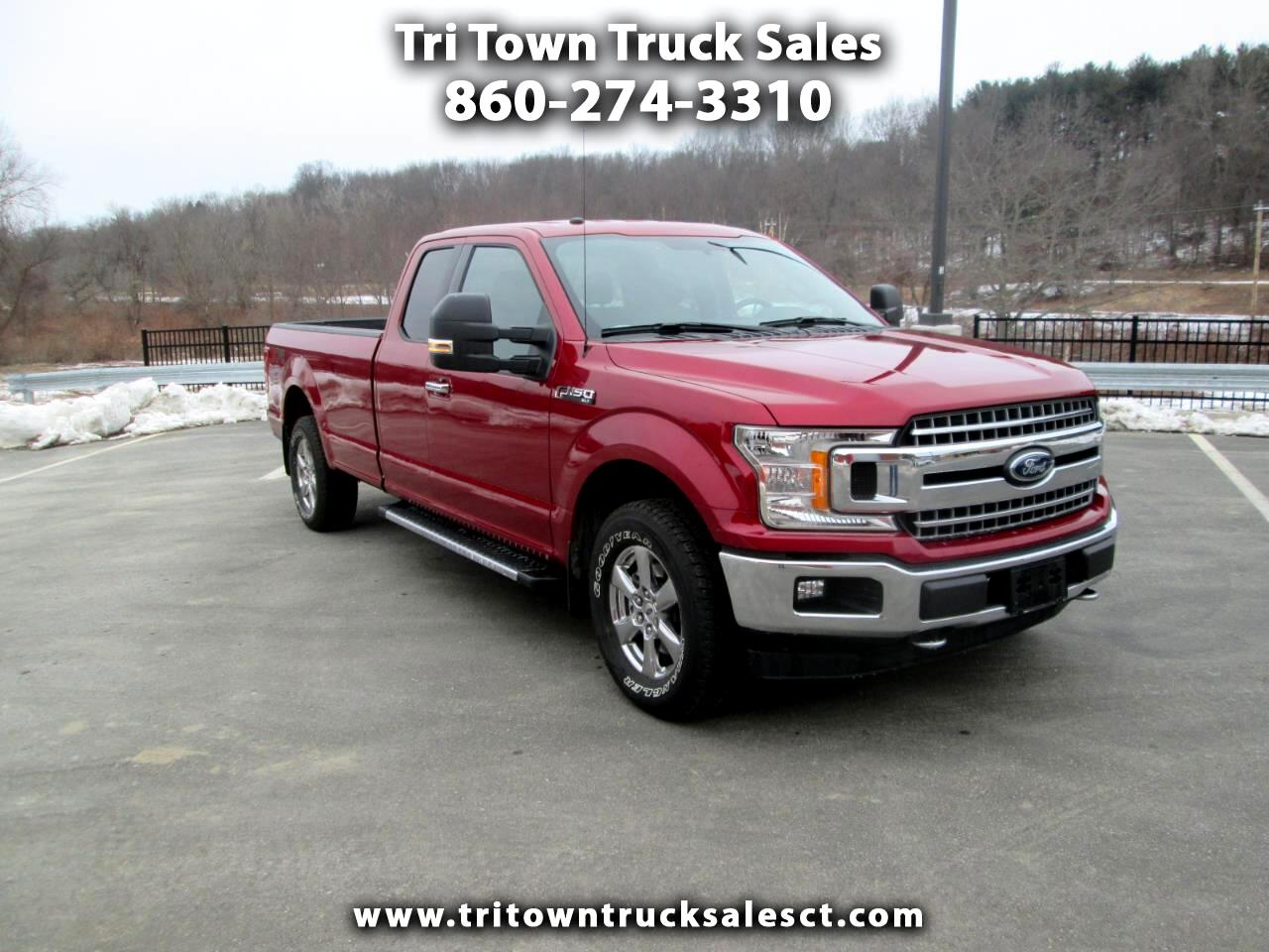 "2018 Ford F-150 4WD SuperCab 163"" XLT"