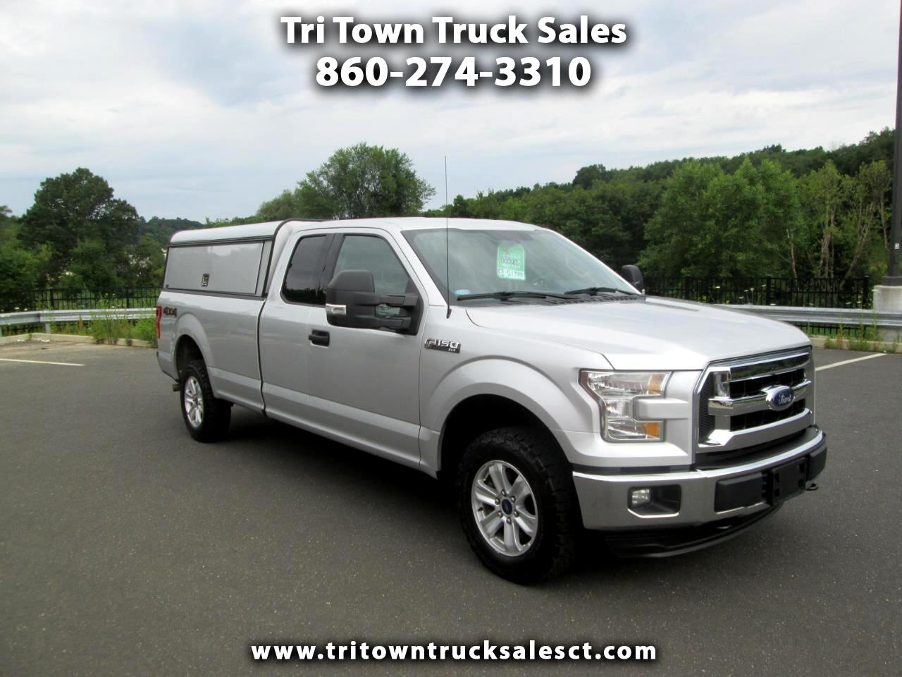 2016 Ford F-150 XLT SuperCab 8-ft. Bed 4WD