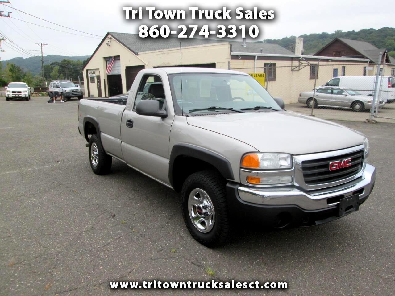 2004 GMC Sierra 1500 Work Truck Long Bed 4WD
