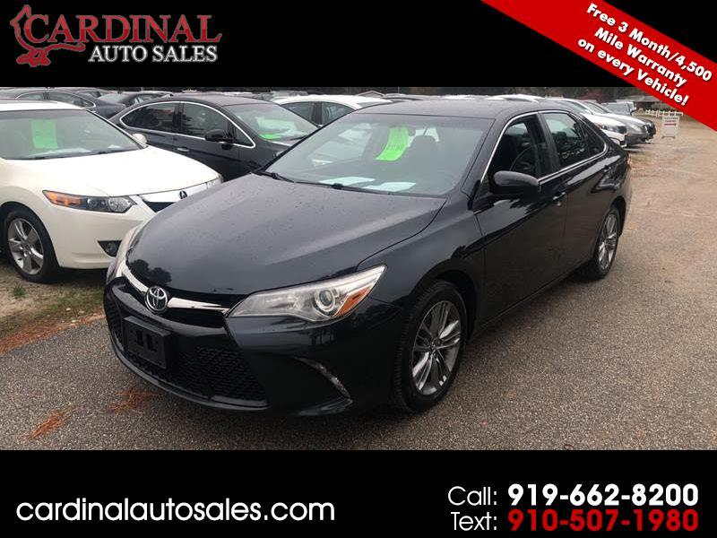 2015 Toyota Camry For Sale >> Used 2015 Toyota Camry Se For Sale In Raleigh Nc 27603