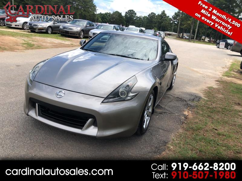 Used 2009 Nissan 370Z Coupe for Sale in Raleigh NC 27603