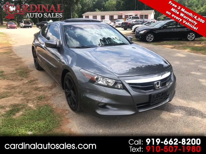 Used 2012 Honda Accord EX-L V6 Coupe AT for Sale in ...