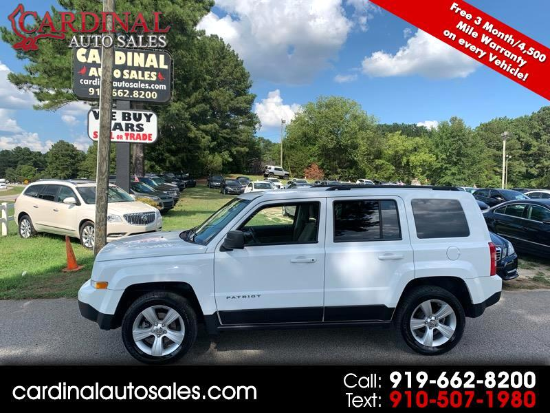 Used 2014 Jeep Patriot Latitude 4WD for Sale in Raleigh NC