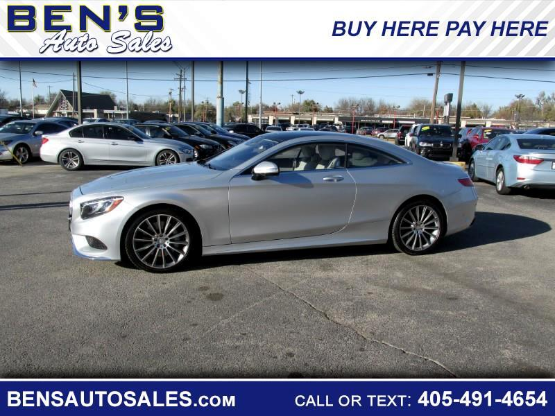 2015 Mercedes-Benz S-Class 2dr Cpe S 550 4MATIC