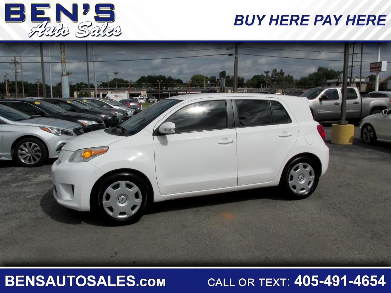 2011 Scion xD 5-Door Hatchback 4-Spd AT