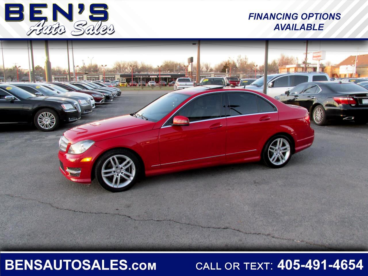 Mercedes-Benz C-Class C250 Sport Sedan 2013