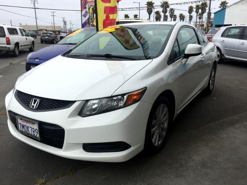 2012 Honda Civic EX Coupe 5-Speed MT