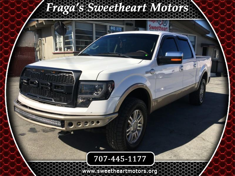 "Ford F-150 4WD SuperCrew 150"" King Ranch 2011"