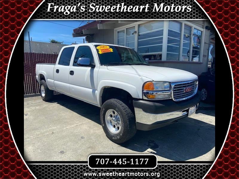 GMC Sierra 2500HD SL Crew Cab Short Bed 4WD 2002