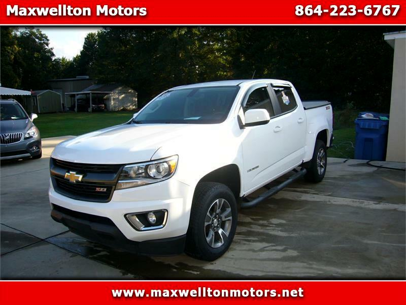 Chevrolet Colorado Z71 Crew Cab 2WD Short Box 2018