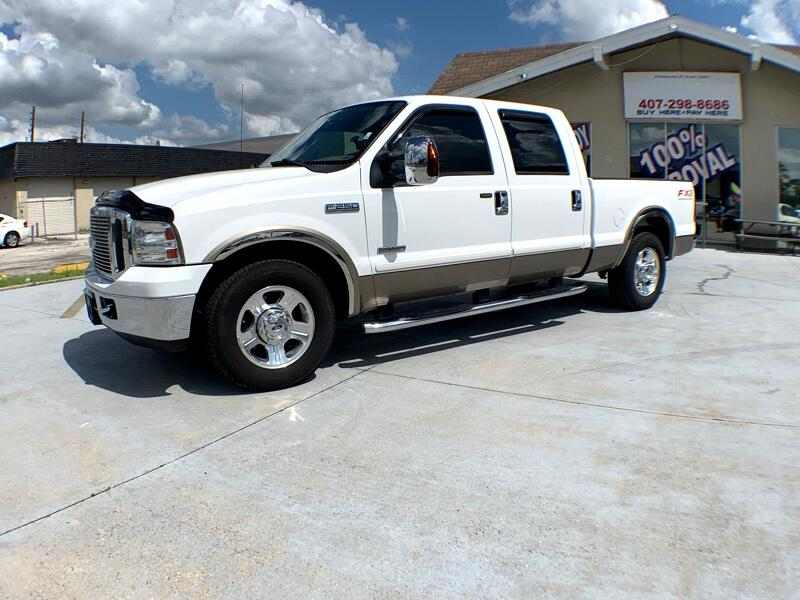 2007 Ford F-250 SD XLT Crew Cab Long Bed 2WD
