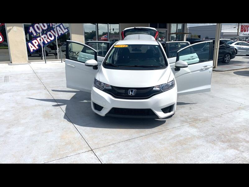 2017 Honda Fit LX 6-Spd MT