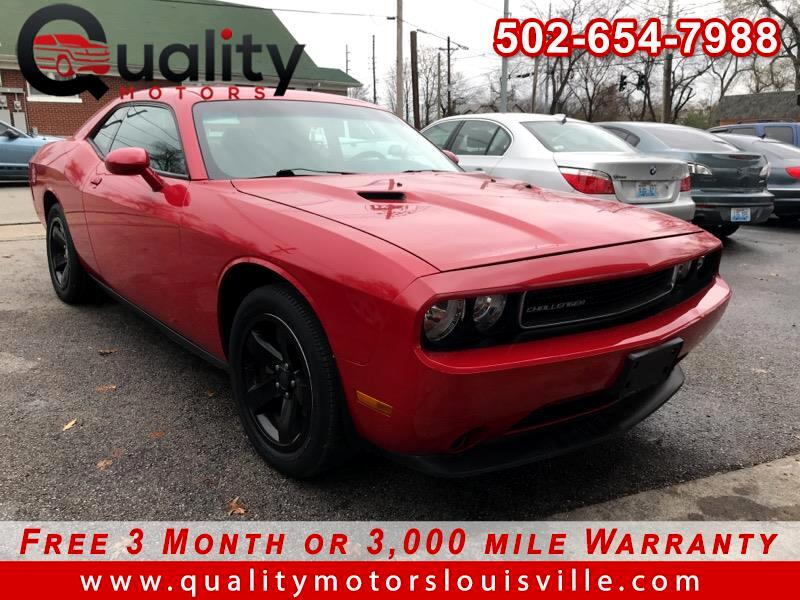 2012 Dodge Challenger 2dr Cpe