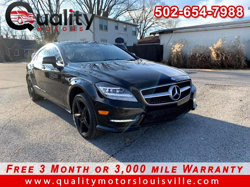 2013 Mercedes-Benz CLS550 CLS 550 4MATIC Coupe 4D