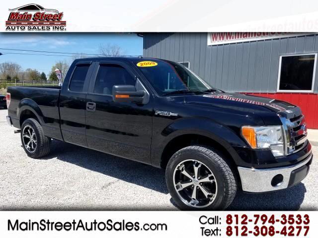 "2009 Ford F-150 2WD Supercab 133"" XLT"