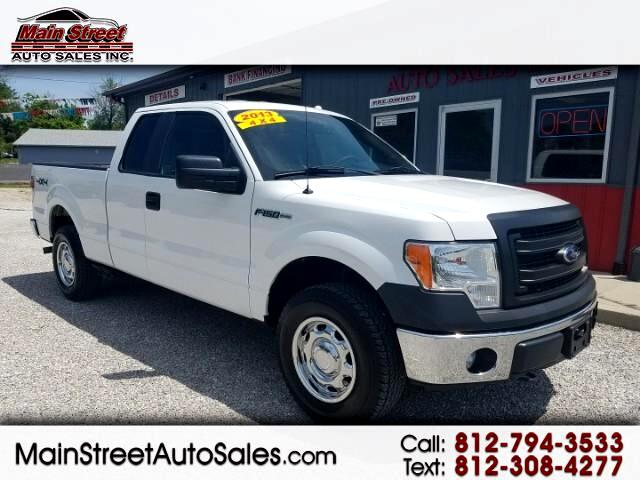 2013 Ford F-150 XL 4WD SuperCab 6.5' Box