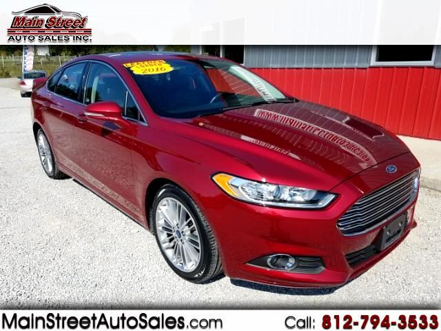 2016 Ford Fusion 4dr Sdn I4 SE FWD