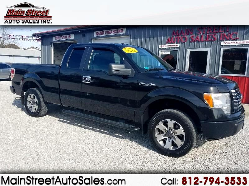 2012 Ford F-150 2WD Supercab 133