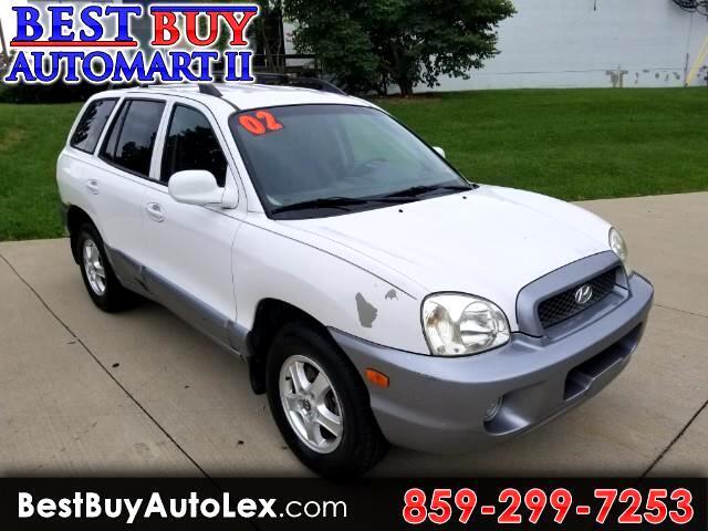 2002 Hyundai Santa Fe GLS 4WD Auto V6