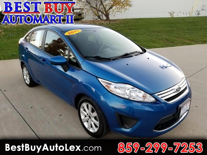 2011 Ford Fiesta 4dr Sdn SE