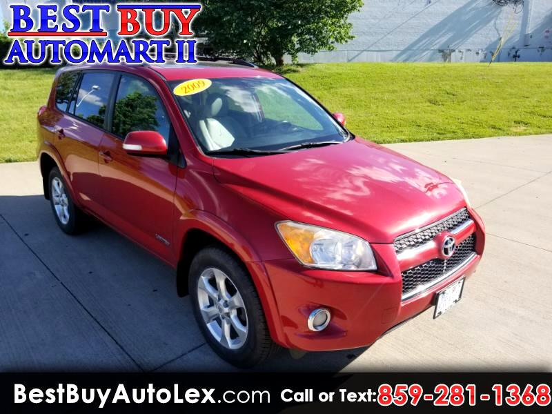 Toyota RAV4 FWD 4dr 4-cyl 4-Spd AT Ltd (Natl) 2009