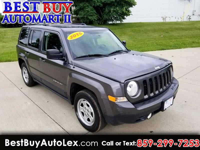 2015 Jeep Patriot FWD 4dr Sport