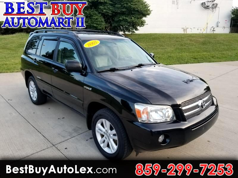 2007 Toyota Highlander Hybrid 4WD 4dr Limited w/3rd Row (Natl)