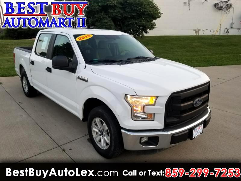 "2015 Ford F-150 2WD SuperCrew 145"" XL"