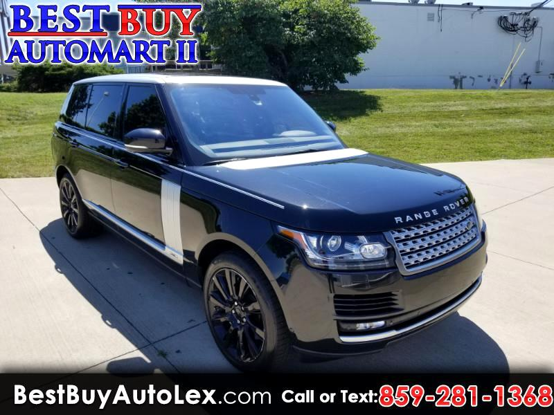 Land Rover Range Rover 4WD 4dr Supercharged LWB 2015