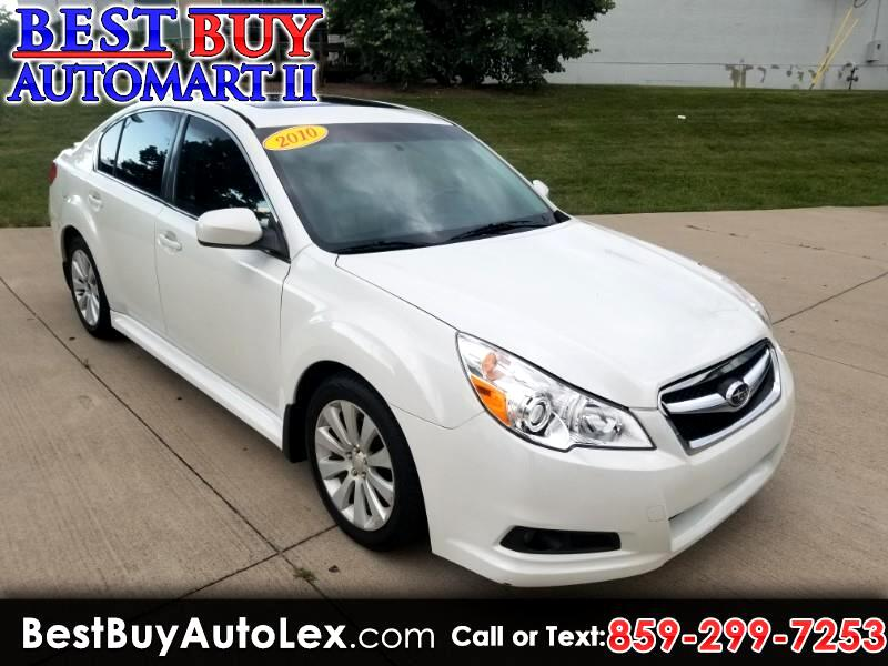 2010 Subaru Legacy 4dr Sdn H4 Auto Limited Pwr Moon/Navigation